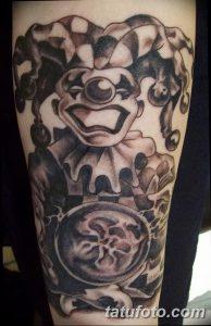 фото тату арлекин от 28.10.2017 №050 - tattoo harlequin - tatufoto.com