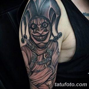 фото тату арлекин от 28.10.2017 №054 - tattoo harlequin - tatufoto.com
