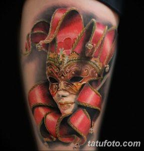 фото тату арлекин от 28.10.2017 №066 - tattoo harlequin - tatufoto.com
