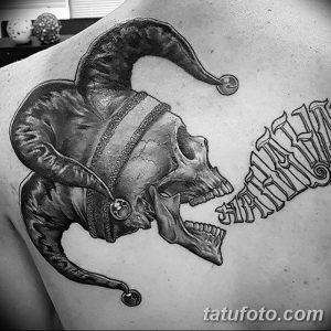 фото тату арлекин от 28.10.2017 №067 - tattoo harlequin - tatufoto.com