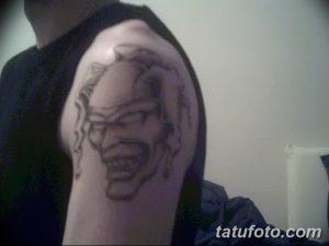 фото тату арлекин от 28.10.2017 №068 - tattoo harlequin - tatufoto.com
