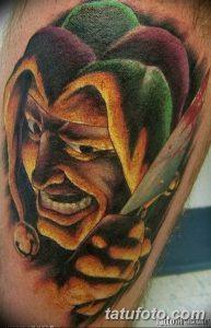 фото тату арлекин от 28.10.2017 №072 - tattoo harlequin - tatufoto.com