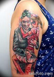 фото тату арлекин от 28.10.2017 №080 - tattoo harlequin - tatufoto.com