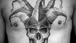 фото тату арлекин от 28.10.2017 №095 - tattoo harlequin - tatufoto.com