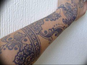 фото тату в индийском стиле от 18.10.2017 №003 - tattoo in Indian style - tattoo-photo.ru