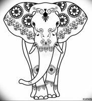 фото тату в индийском стиле от 18.10.2017 №006 — tattoo in Indian style — tattoo-photo.ru