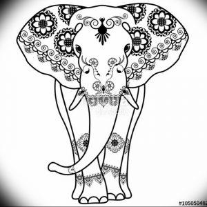фото тату в индийском стиле от 18.10.2017 №006 - tattoo in Indian style - tattoo-photo.ru