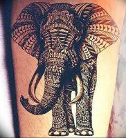 фото тату в индийском стиле от 18.10.2017 №011 — tattoo in Indian style — tattoo-photo.ru