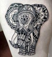 фото тату в индийском стиле от 18.10.2017 №013 — tattoo in Indian style — tattoo-photo.ru