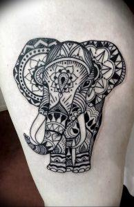 фото тату в индийском стиле от 18.10.2017 №013 - tattoo in Indian style - tattoo-photo.ru