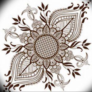фото тату в индийском стиле от 18.10.2017 №015 - tattoo in Indian style - tattoo-photo.ru