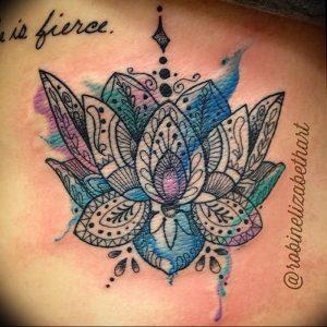 фото тату в индийском стиле от 18.10.2017 №022 - tattoo in Indian style - tattoo-photo.ru