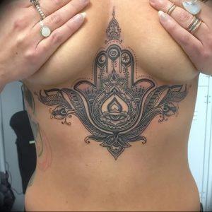 фото тату в индийском стиле от 18.10.2017 №023 - tattoo in Indian style - tattoo-photo.ru