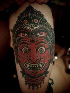 фото тату в индийском стиле от 18.10.2017 №025 - tattoo in Indian style - tattoo-photo.ru