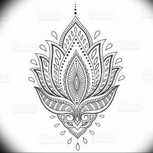 фото тату в индийском стиле от 18.10.2017 №026 - tattoo in Indian style - tattoo-photo.ru
