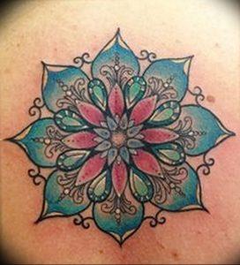 фото тату в индийском стиле от 18.10.2017 №037 - tattoo in Indian style - tattoo-photo.ru