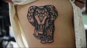 фото тату в индийском стиле от 18.10.2017 №041 - tattoo in Indian style - tattoo-photo.ru