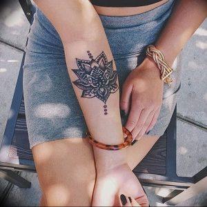 фото тату в индийском стиле от 18.10.2017 №042 - tattoo in Indian style - tattoo-photo.ru