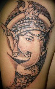 фото тату в индийском стиле от 18.10.2017 №044 - tattoo in Indian style - tattoo-photo.ru