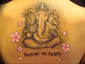 фото тату в индийском стиле от 18.10.2017 №045 - tattoo in Indian style - tattoo-photo.ru