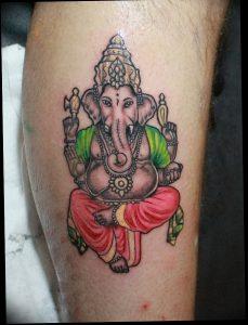 фото тату в индийском стиле от 18.10.2017 №047 - tattoo in Indian style - tattoo-photo.ru