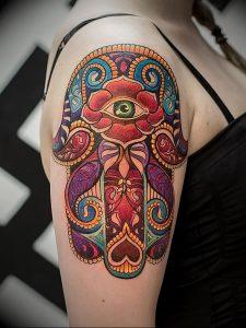 фото тату в индийском стиле от 18.10.2017 №052 - tattoo in Indian style - tattoo-photo.ru