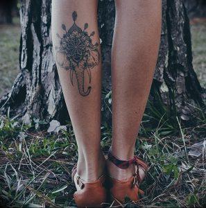 фото тату в индийском стиле от 18.10.2017 №053 - tattoo in Indian style - tattoo-photo.ru 2323434234