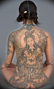 фото тату в индийском стиле от 18.10.2017 №056 - tattoo in Indian style - tattoo-photo.ru