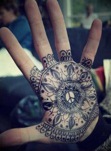 фото тату в индийском стиле от 18.10.2017 №057 - tattoo in Indian style - tattoo-photo.ru