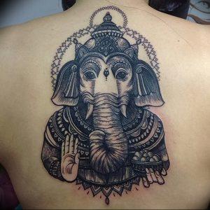 фото тату в индийском стиле от 18.10.2017 №058 - tattoo in Indian style - tattoo-photo.ru