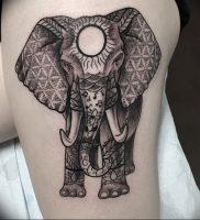 фото тату в индийском стиле от 18.10.2017 №064 — tattoo in Indian style — tattoo-photo.ru