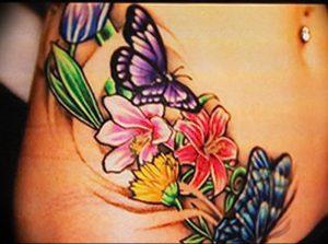 фото тату жасмин от 18.10.2017 №007 - tattoo jasmine - tattoo-photo.ru