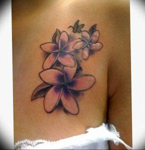 фото тату жасмин от 18.10.2017 №035 - tattoo jasmine - tattoo-photo.ru
