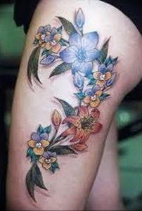 фото тату жасмин от 18.10.2017 №038 - tattoo jasmine - tattoo-photo.ru