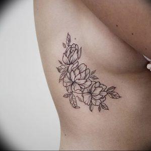 фото тату жасмин от 18.10.2017 №040 - tattoo jasmine - tattoo-photo.ru