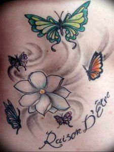 фото тату жасмин от 18.10.2017 №042 - tattoo jasmine - tattoo-photo.ru
