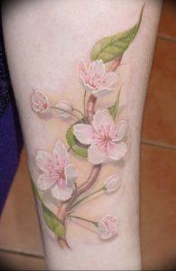 фото тату жасмин от 18.10.2017 №052 - tattoo jasmine - tattoo-photo.ru