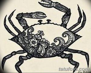 фото тату краб (рак) от 23.10.2017 №013 - tattoo crab (cancer) - tatufoto.com