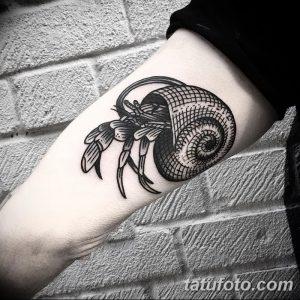 фото тату краб (рак) от 23.10.2017 №014 - tattoo crab (cancer) - tatufoto.com