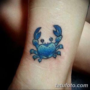 фото тату краб (рак) от 23.10.2017 №031 - tattoo crab (cancer) - tatufoto.com
