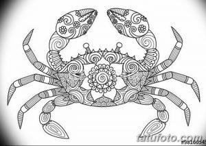 фото тату краб (рак) от 23.10.2017 №033 - tattoo crab (cancer) - tatufoto.com