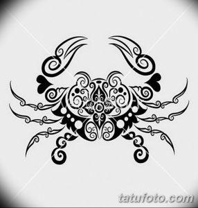фото тату краб (рак) от 23.10.2017 №045 - tattoo crab (cancer) - tatufoto.com