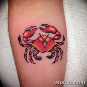 фото тату краб (рак) от 23.10.2017 №067 - tattoo crab (cancer) - tatufoto.com