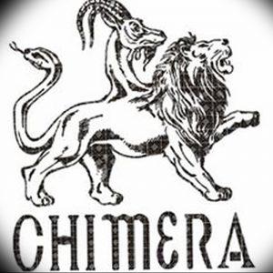 фото тату химера от 07.10.2017 №019 - Chimera Tattoo - tattoo-photo.ru