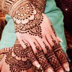 фото Мехенди на свадьбу от 04.12.2017 №006 - Mehendi for the wedding - tattoo-photo.ru