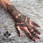 фото Мехенди на свадьбу от 04.12.2017 №010 - Mehendi for the wedding - tattoo-photo.ru
