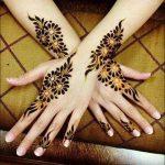фото Мехенди на свадьбу от 04.12.2017 №028 - Mehendi for the wedding - tattoo-photo.ru