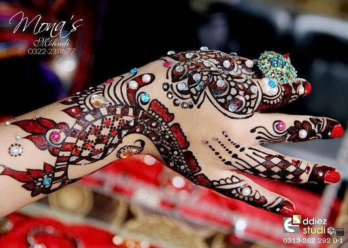 фото Мехенди на свадьбу от 04.12.2017 №029 - Mehendi for the wedding - tattoo-photo.ru