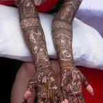 фото Мехенди на свадьбу от 04.12.2017 №043 - Mehendi for the wedding - tattoo-photo.ru