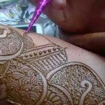 фото Мехенди на свадьбу от 04.12.2017 №055 - Mehendi for the wedding - tattoo-photo.ru